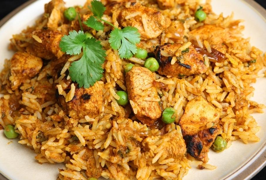Biryani cuisine créole la reunion