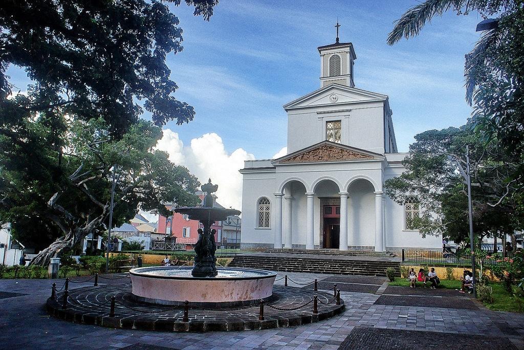 Cathédral Saint Denis La Réunion