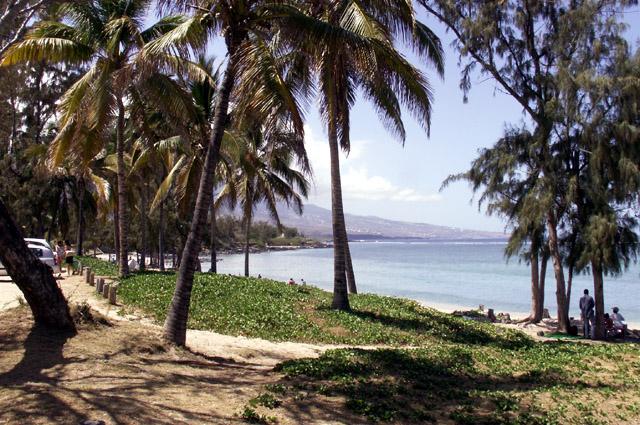 La Réunion Plage le trou d'eau