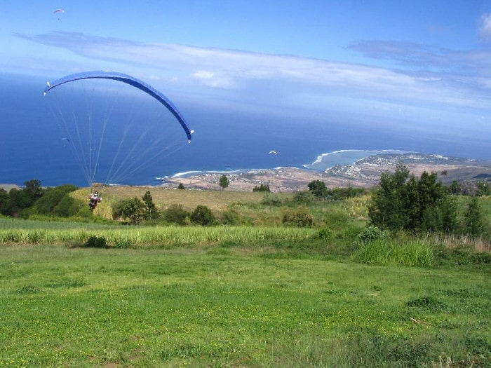 Parapente à La Réunion