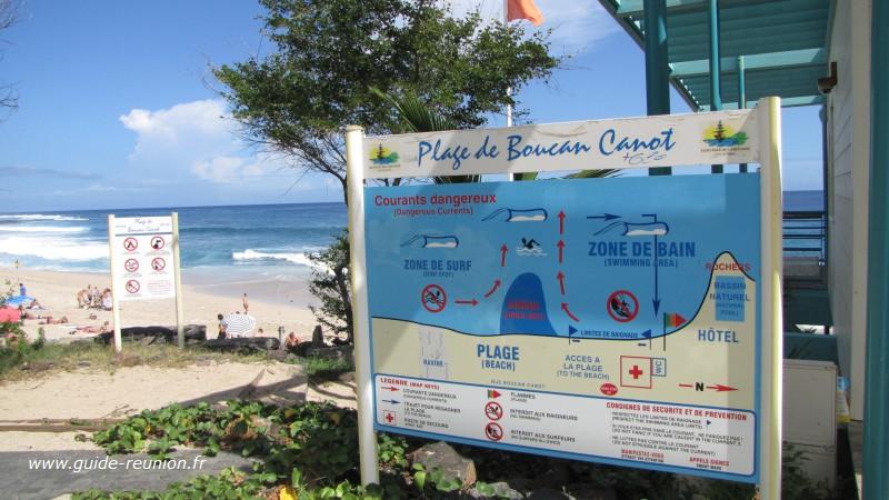 Plage La Réunion de Boucan Canot