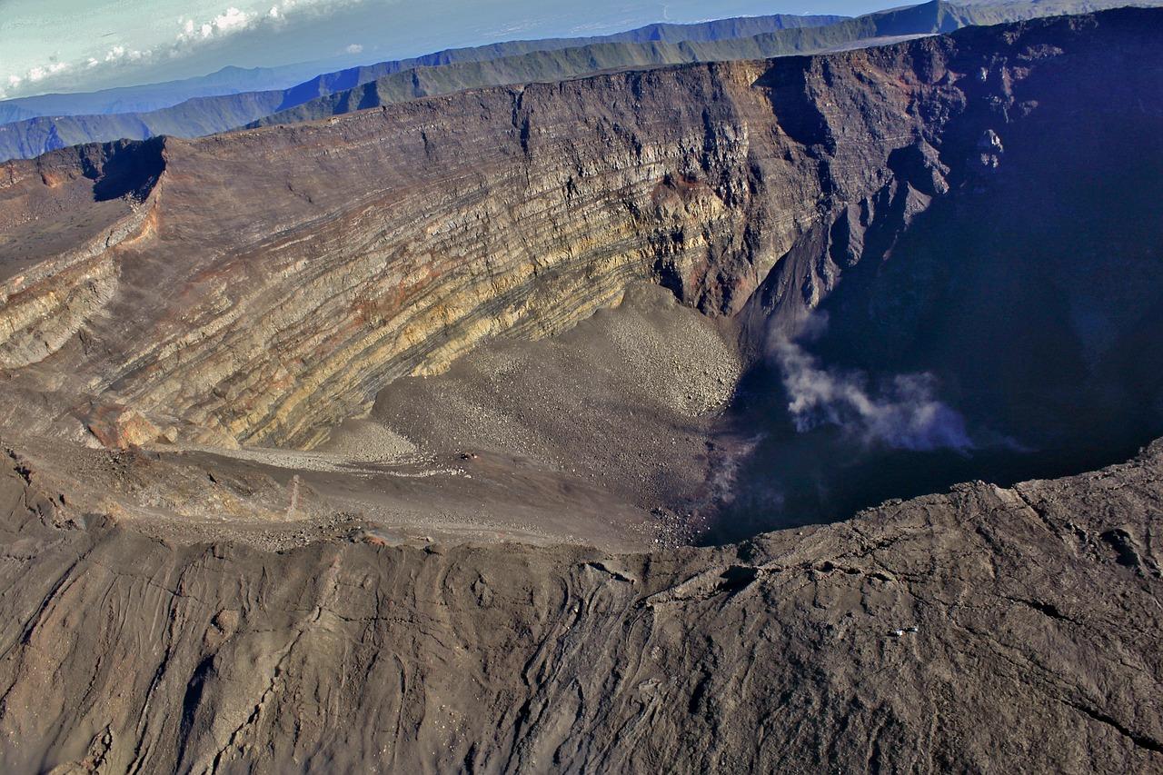 Volcan à la Réunion